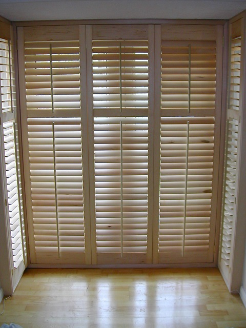 Build your own plantation shutters for Make your own shutters